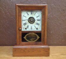 Beautiful Antique SETH THOMAS MANTLE CLOCK WITH ALARM MUST SEE