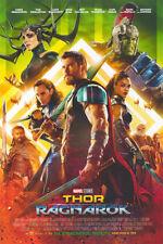 Thor Ragnarok - original DS movie poster 27x40 FINAL - Hulk, Loki - MINT INTL