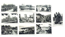Set 10 photos VICTORIA, BC Canada Empress Douglas St. Princess Kathleen 1940's
