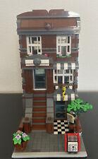 LEGO CUSTOM MODULAR BUILDING TOWNHOUSE 100% LEGO Fit W/ 10246 10251 Custom MOC