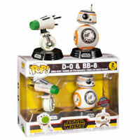 Funko POP Vinyl Star Wars D-0 + BB-8 2019 Special Edition Exclusive 2 Pack NEW