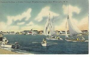 Wilmington, NC - Banks Channel, Wrightsville Beach - Unposted - c. 1930-45