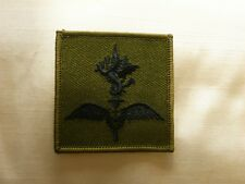 ROYAL MARINE COMMANDO HELICOPTER FORCE CLOTH BADGE - SUBDUED - CURRENT ISSUE