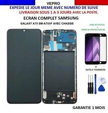 Ecran LCD Complet pour samsung Galaxy A70 sm-A705F SUR CHASSIS +KIT+VERRE OFFERT