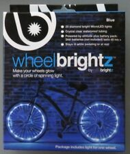 Wheel Brightz Lightweight Blue LED Bicycle Safety Light Accessory