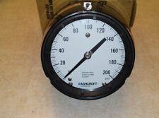 """Ashcroft 45-1279-AS-04B-200# Duragauge 4½"""" Brz Tube Brass SKT 200 PSI"""
