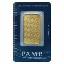 1 oz Gold Pamp Suisse Gold Bar | Sealed in Assay