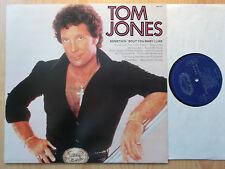 TOM JONES LP: SOMETHIN' 'BOUT YOU BABY I LIKE (UK; HALLMARK SHM 3128)