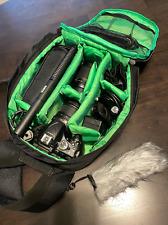 Nikon D5200 Digital SLR Camera, 3 Lenses, Charger, Batterie,Flash,Remote, Mic &
