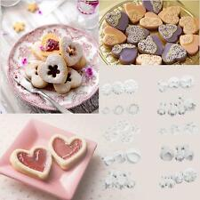 33Pcs Fondant Cake Decorating Sugarcraft Plunger Cutter Tools Mold Cookies BL