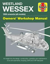 Westland Wessex Owners' Workshop Manual 1958 onwards (all models) 9781785211171