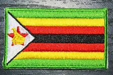 ZIMBABWE Zimbabwean Country Flag Embroidered PATCH Badge *NEW*