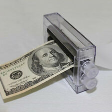 KM_ Close-Up Magic Prop Trick Dollar Money Printer Maker Bill Printing Machine
