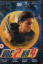 ONE 2 KA 4 - RARE EROS BOLLYWOOD DVD- Shah Rukh Khan, Juhi Chawla,Jackie Shroff