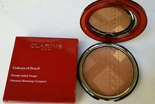 CLARINS COLOURS OF BRAZIL SUMMER BRONZER COMPACT 20g