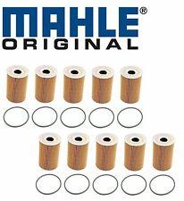 10-OEM Mahle Engine Oil Filter Porsche 911 997 Cayenne V8 Panamera Macan