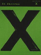 Ed Sheeran X Piano Vocal Guitar Sheet Music Book (Multiply)
