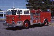 Westfield MA Engine 3 1974/87 Maxim Ranger Pumper - Fire Apparatus Slide