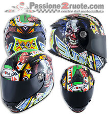 Helmet Suomy Sr sport Gamble Top Playes casque moto integral helm size S