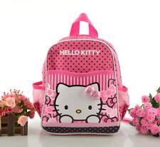 Cute Rose Hello Kitty Backpack Kids Children Kindy Childcare School Bag for Girl