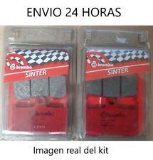 Brembo 07KA23.SA Pastillas de Freno para Motocicleta - Rojos