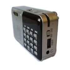 Mini Radio portatile Radiolina FM Ricaricabile Lettore Mp3 USB MicroSD Cmik Mk93