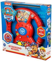 Paw Patrol Kids Electronic Car Steering Wheel Pretend Driving Light Sounds Toy