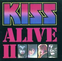 KISS - ALIVE II (GERMAN VERSION) 2 CD NEU
