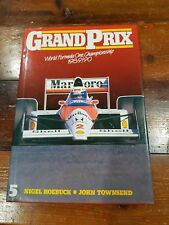 GRAND PRIX Formula One Championship 1989/90 signed by Dennis Shaw