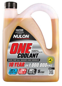 Nulon One Coolant Concentrate ONE-5 fits Saab 9-5 1.9 TiD 110kw, 2.0 TiD 118k...