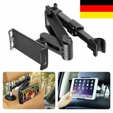 "360°KFZ Tablet Kopfstützen Halterung Auto Halter für Smartphone Ipad 4-11"" DE"