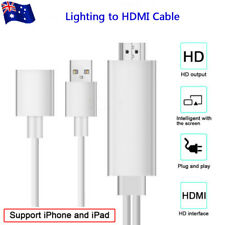 8 pin Lightning to HDMI Cable HD TV Digital AV Adapter for Apple iPhone/iPad AU