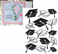 Graduation Hat embossing folder Darice embossing folders 1218-48 school