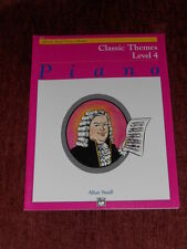 Alfred's Basic Piano Library-Classic Themes-Level 4-NEW