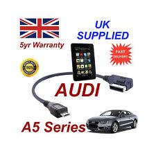 AUDI A5 Séries 4F0051510M Câble pour Amazon Kindle Fire HD MICRO USB acoustique
