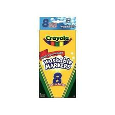 Crayola Washable Markers Fine Line - 8 count (Back to School Deal)