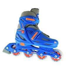 Crazy Skates - Kids 4 Size Adjustable 148 Inline Blades Boys Girls Rollerblades