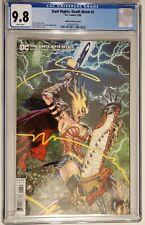 Dark Nights Death Metal #2 CGC 9.8 NM/MT 1:25 Mahnke Variant Cover Wonder Woman