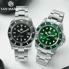San Martin SN017-G SUBMARINER Dive watch Homage SEIKO NH35 200m UK stock
