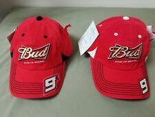 new Nascar Budweiser King of Beers #9 Kasey Kahne fitted baseball cap.