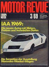 Motor Revue March 1969 Mercedes-Wankel-Wagen German Auto Magazine 051617nonDBE