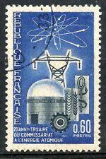 STAMP / TIMBRE FRANCE OBLITERE N° 1462  ENERGIE ATOMIQUE