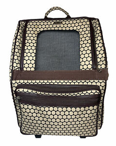 Petote Rio Bag On Wheels Dog Pet Carrier Tote Backpack Car Seat Airline Approved
