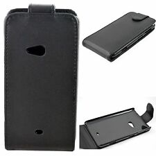 New Black Magnet Skin Flip PU Leather Shell Phone Case Cover For Nokia Lumia 625