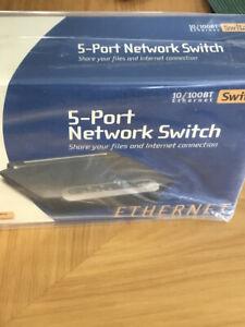 BELKIN 5-PORT NETWORK SWITCH