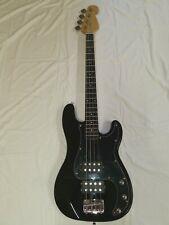 Basso Elettrico Precision Bass Doppio Humbacker 4 Corde Nero