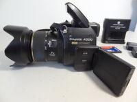 Konica Minolta DiMAGE A200 8.0MP Black Digital Camera Bundle - Free Shipping