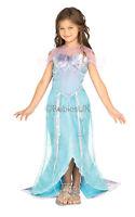 Girls Kids Childs Mermaid Princess Fancy Dress Costume Outfit Rubies Fairy Tale