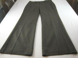 Banana Republic Womens Brown Jackson Fit Wool Pants 6 [32 waist X 32 L ]