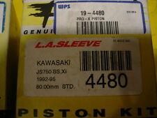 KAWASAKI 750 JETSKI PRO-X LA SLEEVE PISTONS & PINS 4480 80.mm STANDARD BORE